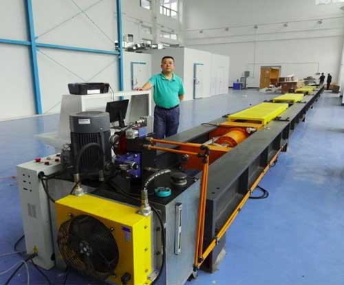 WAL系列锚链索具卧式拉伸试验机